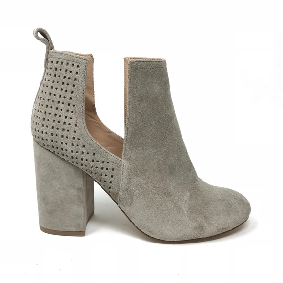 edd4046db39 Steve Madden Nomad Cut Out Suede Booties Taupe 8.5.  M 5bd4a87e409c154c45eb06c4